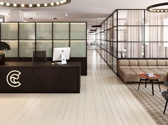 Retail construye capital for Oficinas cam
